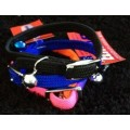 Coloured All Stretch Collars - Yellow,L/Blue,D/Blue,Red,Pink,Black,Green
