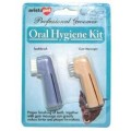 Oral Hygiene Kit (2 Finger Tooth Brushes) Blister Packed