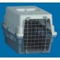All Plastic Pet Carrier - Wire Door 49 X 33 X 31cm