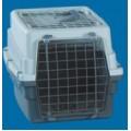 All Plastic Pet Carrier W/Wire Top - Wire Door 49 X 33 X 31cm