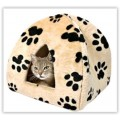 Gruff Printed Cat Igloo