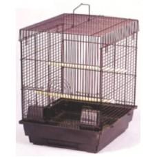 Birdcage - Curve Roof *Black Colour Cage