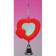 Heart Shape Mirror with Bell