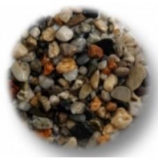 10Kg Natural Gravel - Dark Multi-Mix 8mm
