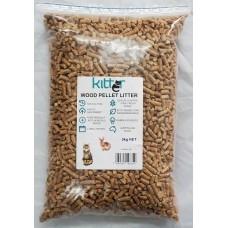 Kitter Wood Pellet Cat Litter 3kg