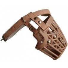 Plastic Muzzle with Leather Straps No.2