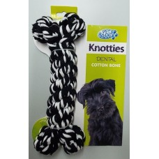 Knotties Cotton Dental Bone X/Large