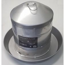 Stainless Steel Poultry Drinker 9Ltr