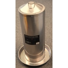 Stainless Steel Poultry Drinker 5Ltr