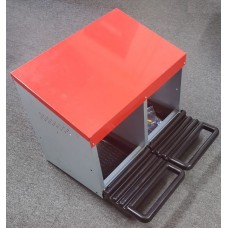 Metal Rollaway Layer Box 2 Hole