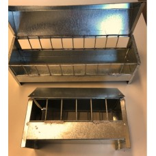 Metal Trough With Roof