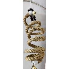 Sisal Rope Twirl Perch 160cm x 15mm