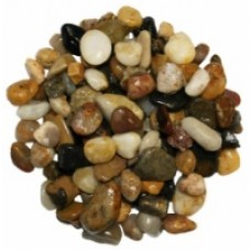 1.5Kg Polished River Multi Pebbles 15mm