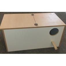 Wood Eclectus Nest Box