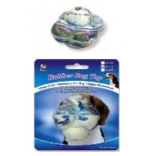 """Rubber 3"""" Hexagon Ball W/Bell"""