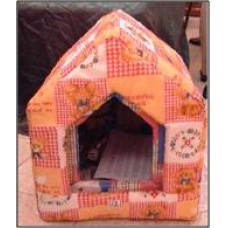 Elite-Pet Quilted House Shape Cubbies - Large Size