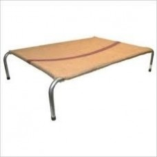 Steel Frame Dog Bed X/L- Hessian Cover