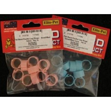 Plastic Bantam Leg Rings/Small Poultry - Flat Band Pkt 10