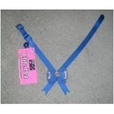Nylon Cat Collar W/Bow & Bell 30cm