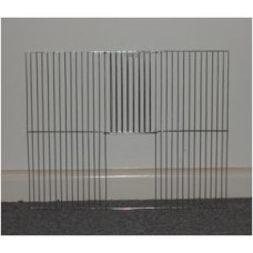 Black Budgie Cage Front 60X45cm