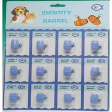 Plastic Identity Barrel Card 12