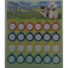 Plastic Identity Discs - Card 24