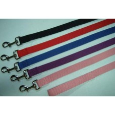 Black Cotton Webb Lead 120cm