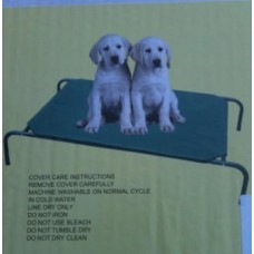 Steel Frame Dog Bed Small - Canvas