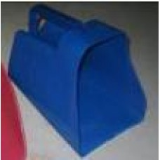 Plastic Feed Scoop Large - Enclosed Type W/Measurements