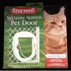 Pet Door Security Screen Door