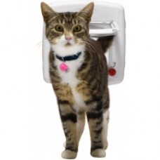 Magnetic Cat Door W/Collar (Flap Opening 175mm X 168mm)