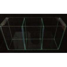 Glass Betta Triple Tank W/Lid 36cm