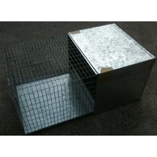 Rat Cage Galvanised Metal With Tray