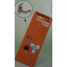Glass Mouse Drinking Tube, X-Type Clip, 13cml