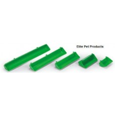 Plastic Green Chicken Trough 155X65mm