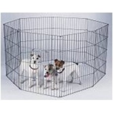 Puppy Pen -60cm X 75cm High - 8 Panels