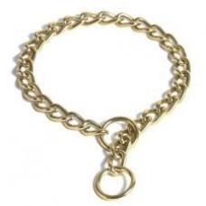 Bronze Plated Choker Chain 2mm x 35cm