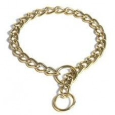 Bronze Plated Choker Chain 65cm X 3.5mm