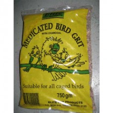 750 G Medicated Grit - Suitable For Small Birds