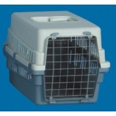 All Plastic Pet Carrier - Wire Door 49 X 33 X 31cm