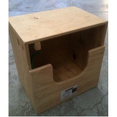 Plywood Poultry Layer Box - 1 Hole