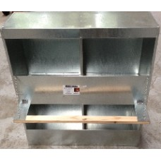 Metal 2 Storey Layer Box - 4 Hole