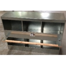 Metal 2 Storey Layer Box - 6 Hole