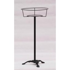 Round Cagestand Lge *Black