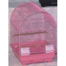 Birdcage-Curve Roof - Black Cage