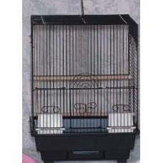 Birdcage - Curve Roof *White Colour Cage