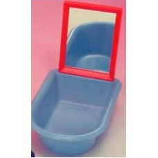 Oval Bath - Deep With Upright Mirror