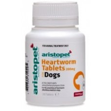 100 X 200Mg Heartworm Tablets