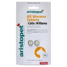 Ap Cat All Wormer Tablets 2'S