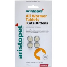 Ap Cat All Wormer Tablets 4'S